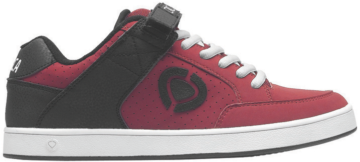 Vegan C1RCA synthetic brickred skate shoe