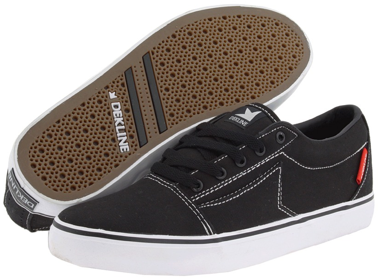 Belmont Vegan Skate Shoe Black Canvas