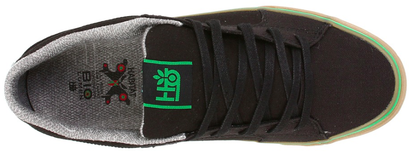 Vireo vegan skateboard shoe top-view