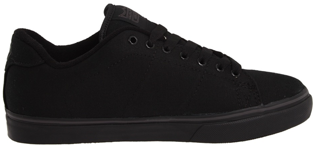 Black Vegan DVS Gavin CT skateboard shoe