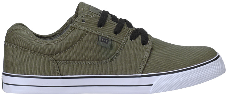Vegan DC Skate shoe, Tonik S TX Green