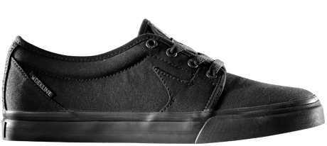 Black Vegan Skateboard Shoe by Dekline