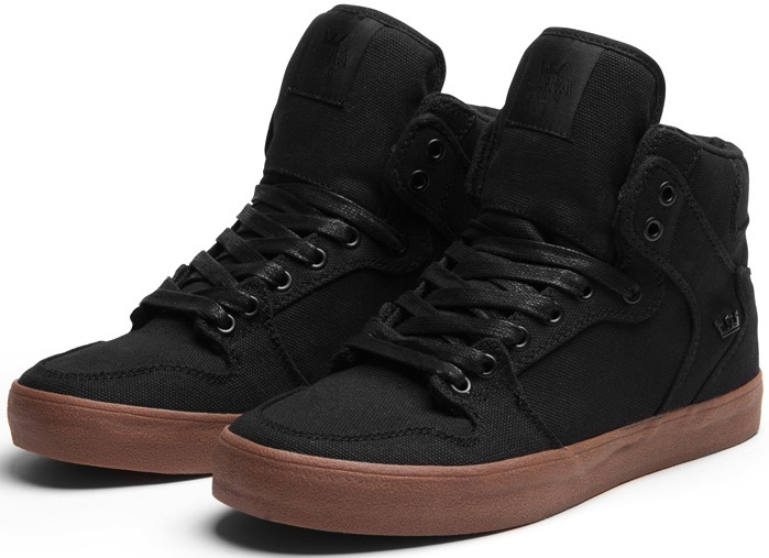 Vegan Supra Vaiders in black