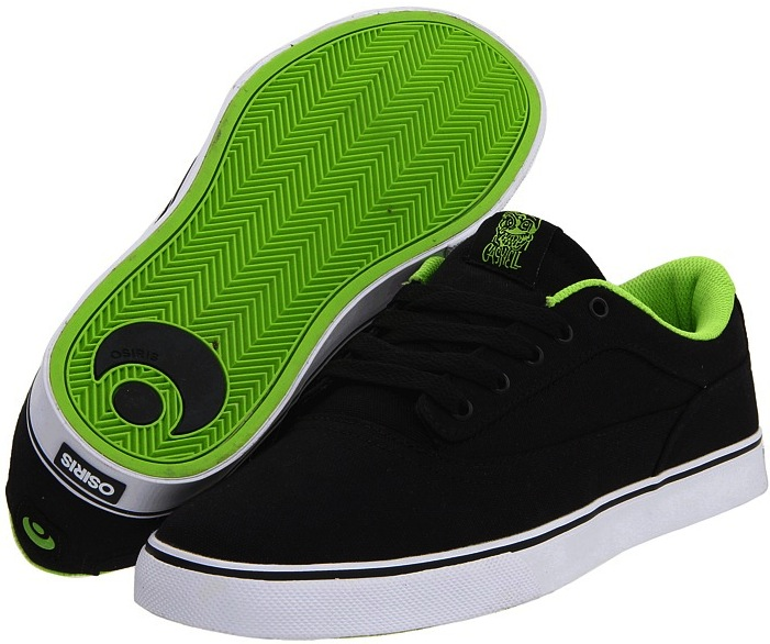 Vegan Osiris skateboard shoes in Canvas
