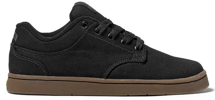 Vegan Black Canvas Skateboard Shoes from Supra