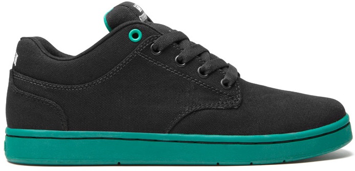 Black Vegan Skateboard Shoes from Supra