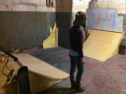 diy indoor ramp vegan skate blog