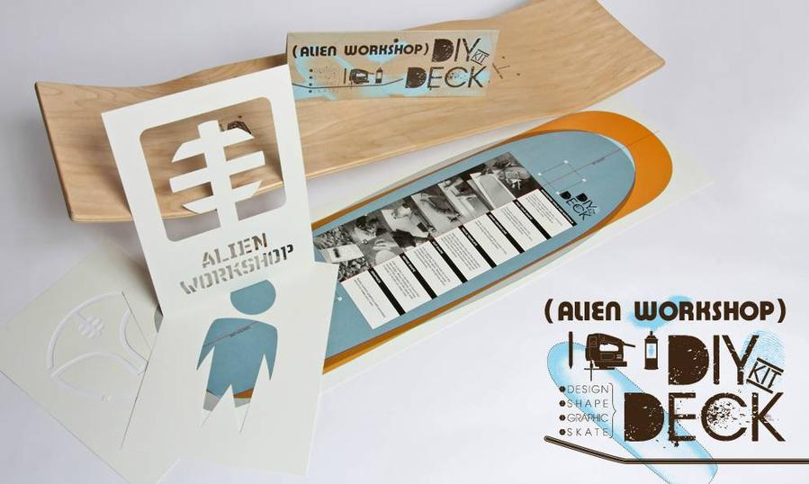 Alien Workshop DIY DECK KIT