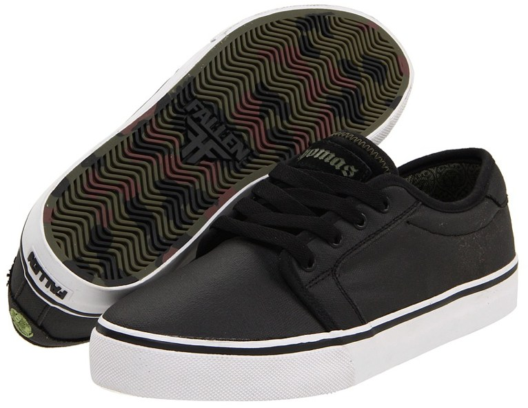 Vegan skateboard shoes, from Fallen