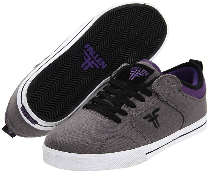 Vegan Fallen Clipper Skateboard shoes