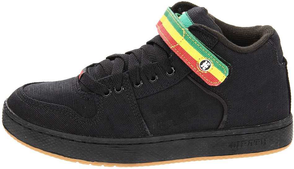 Black Vegan Skateboard shoes