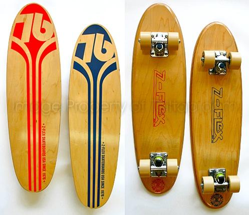 Z-Flex Vintage skateboard re-production