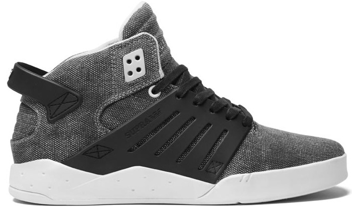 Supra skateboard shoes in Vegan Canvas
