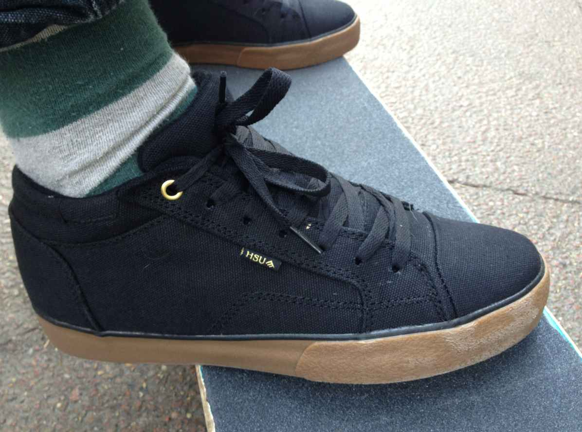 Emerica Hsu 2 in Canvas, Vegan