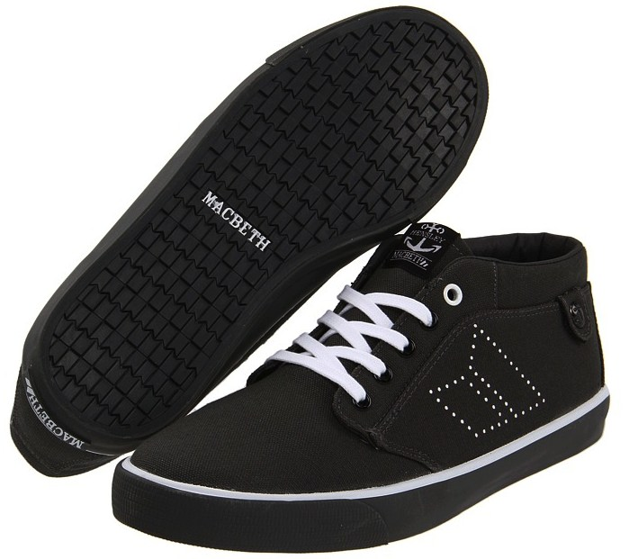 Vegan Macbeth Skateboard shoes