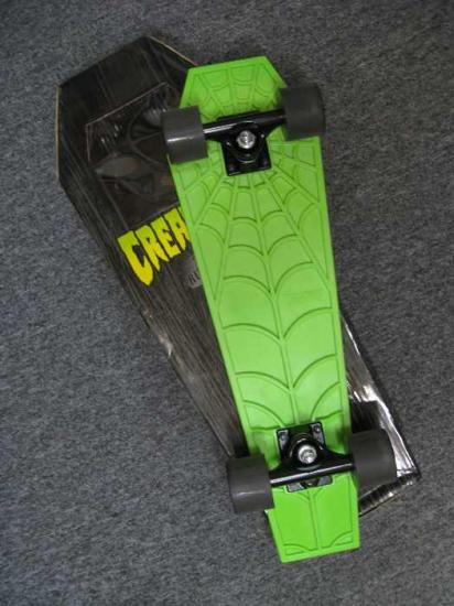 Creature RipRider Coffin Skateboard.