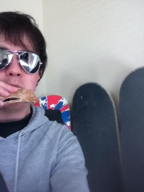 Vegan Skateboarder Derek