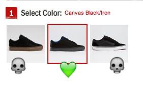 Vegan Vans La Cripta Dos black canvas