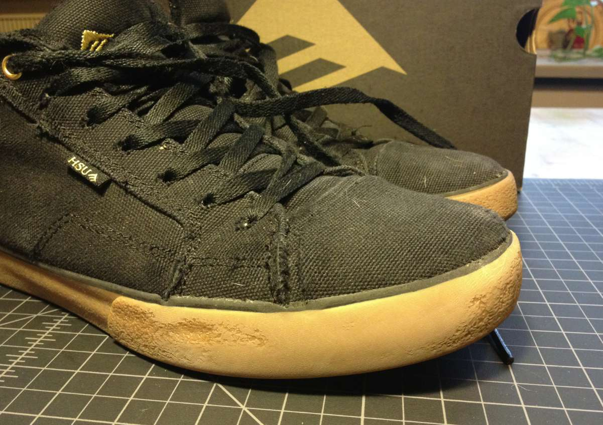 Vegan Skateboard shoes from Emerica, Hsu 2