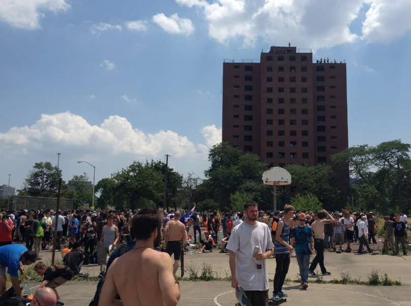 Emerica Wild In the Streets, Go Skateboarding Day 2012 photos Detroit