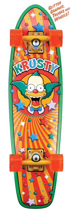 Simpsons Cruiser skateboard by Santa Cruz