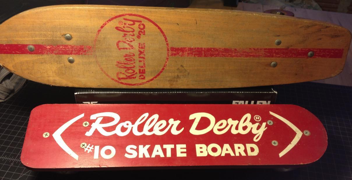 Roller Derby DELUXE #20 Skate Board Roller Derby #10 Skate Board