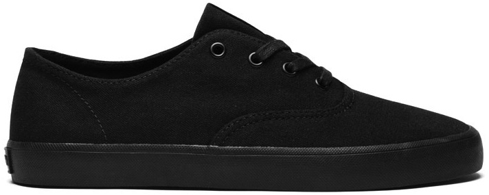 Supra Wrap Black Vegan Skate shoes