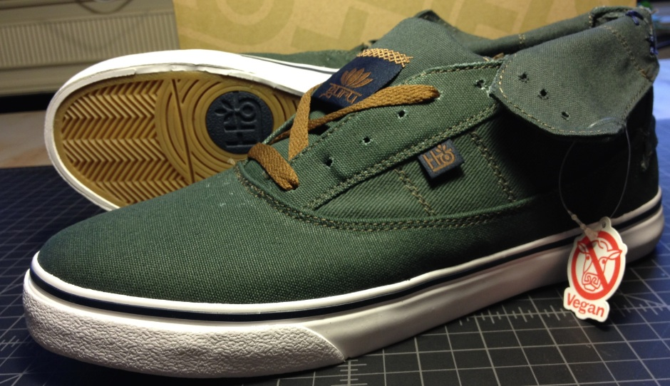 Habitat Footwear Guru Hi Vegan skateboard shoe