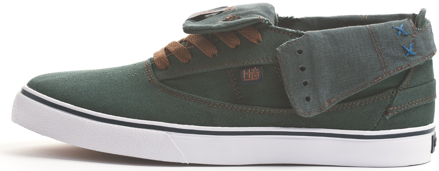 Habitat Vegan Skateboard Shoes Guru Hi