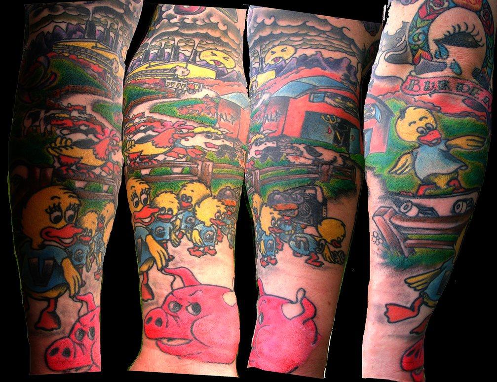 skateboard tattoos vegan skate