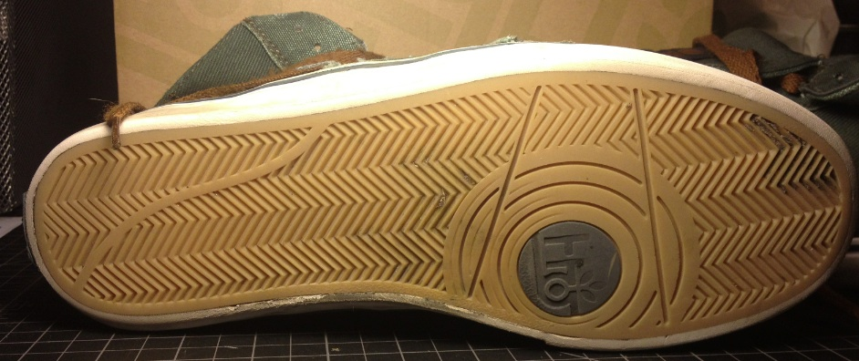 Guru Hi Vegan Canvas Skateboard shoe