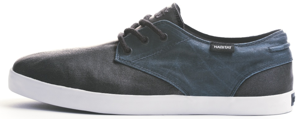 Habitat Garcia Waxed Canvas Vegan skateboard shoe