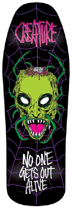 Creature FOS Old School Skateboard deck
