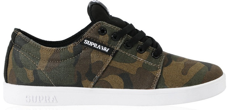 Supra Vegan Skateboard shoes Terry Kennedy Stacks