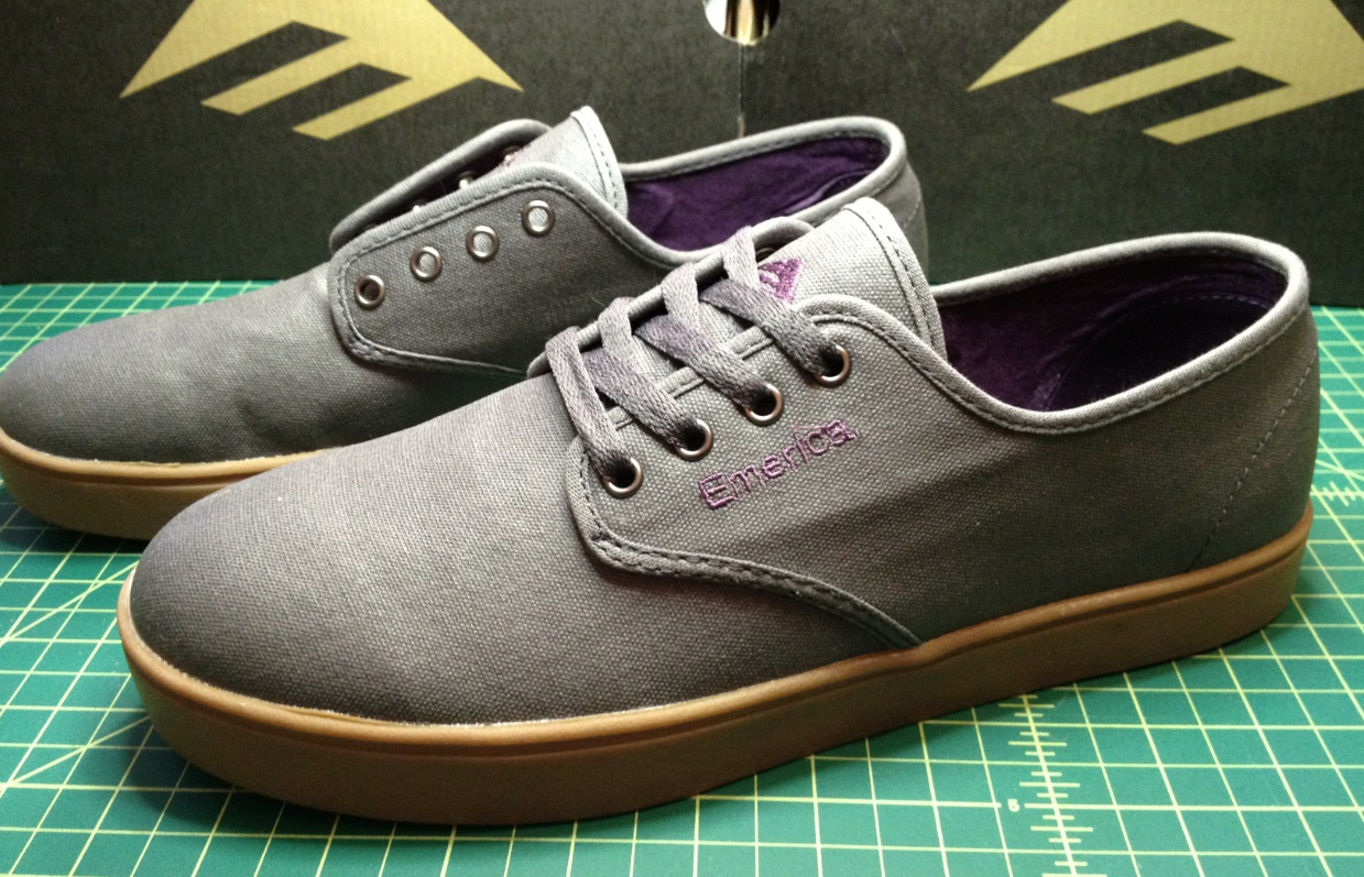 Emerica Vegan Laced Skateboard shoes