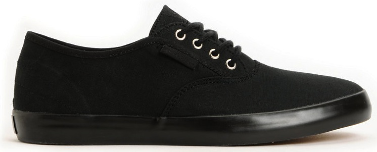 Dekline Daily Black Vegan Skateboard shoe