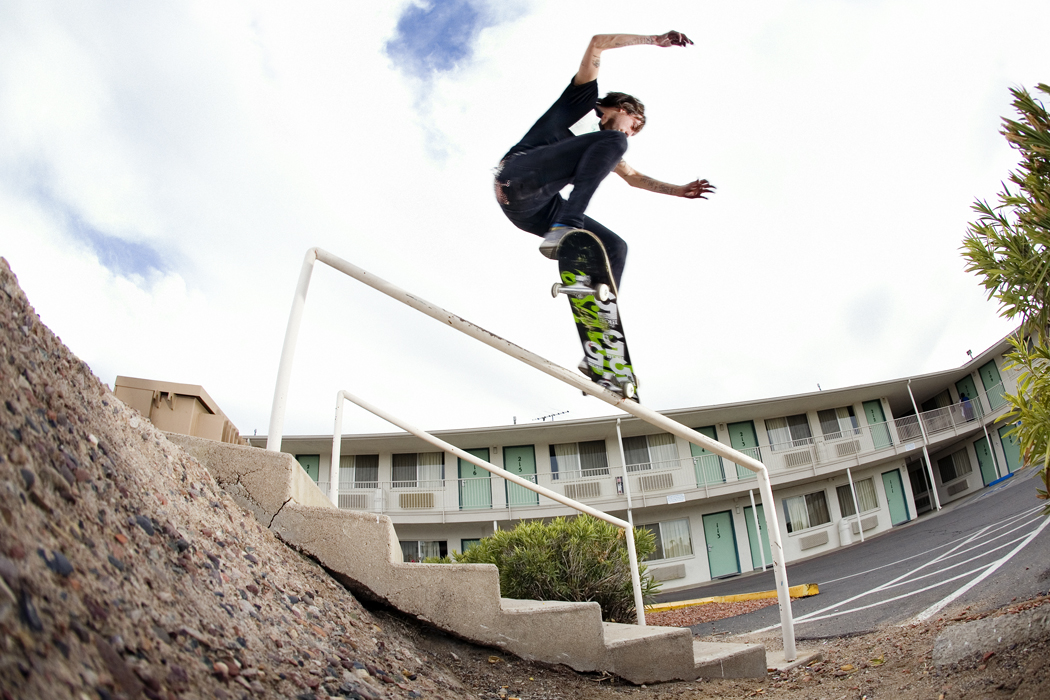 Steve Fauser Vegan Skaterboarder