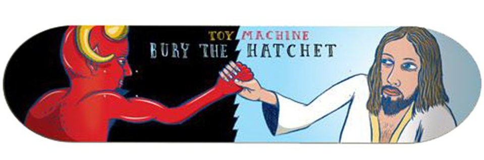 Toy Machine Bury The Hatchet