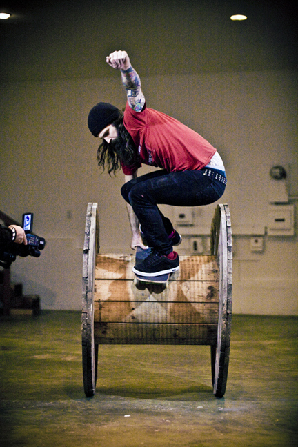 Vegan Pro Skateboarder Laban Pheidias
