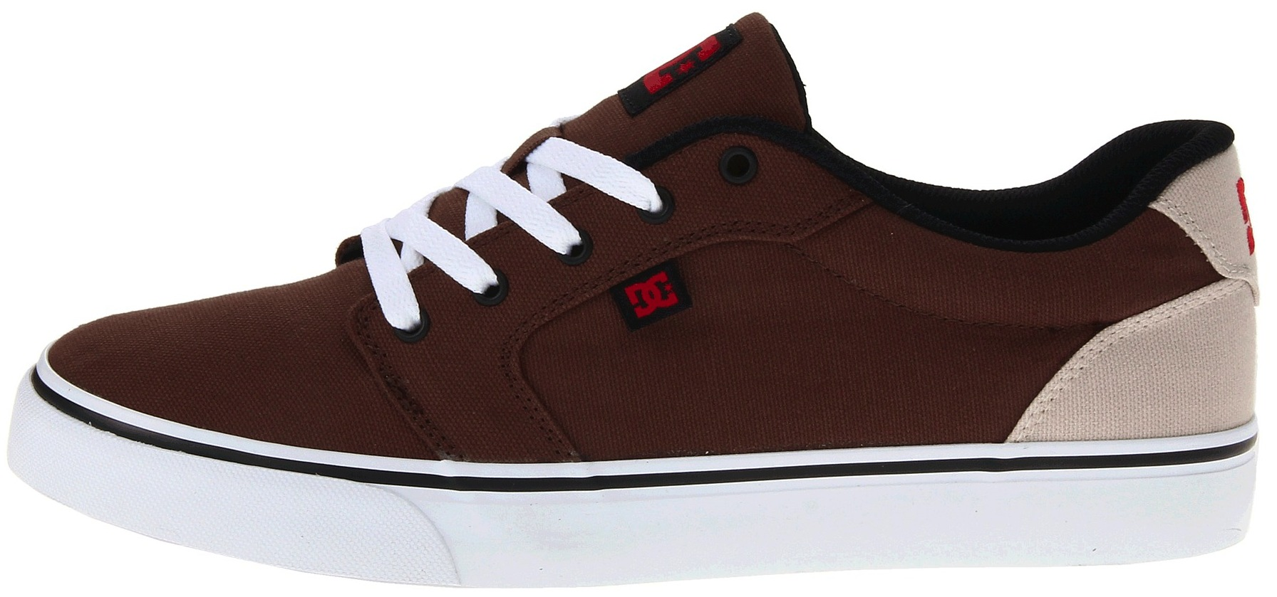 DC Anvil TX canvas Vegan skateboard shoes