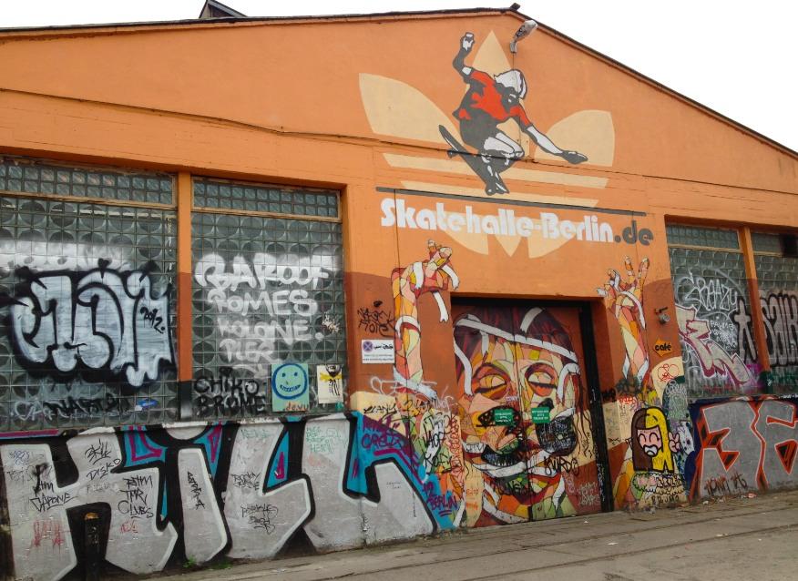 Skatehalle Berlin Skateboard Park
