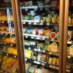 Three cases of Vegan Cheeses at Veganz Grocery!