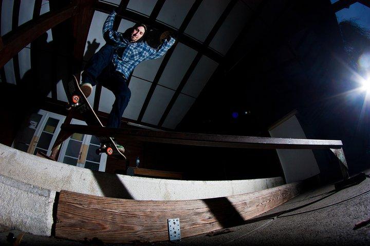Mike G Vegan Skateboarder, Vegetable Shredder