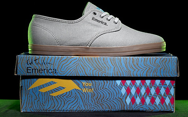 Vegan Skateboard shoes Emerica Wino Ed Templeton Vegan Vegetarian shoes