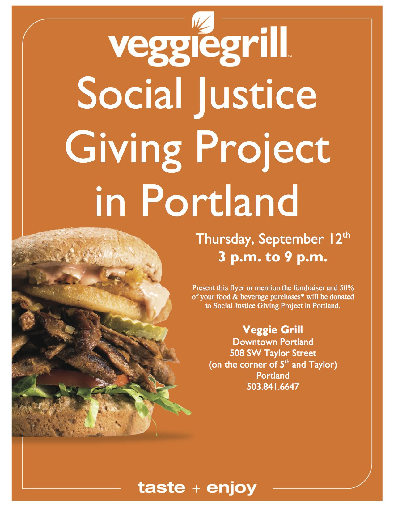 veggie Grill Social Justice Fund