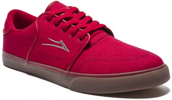 Lakai Carlo Canvas vegan skateboard shoe