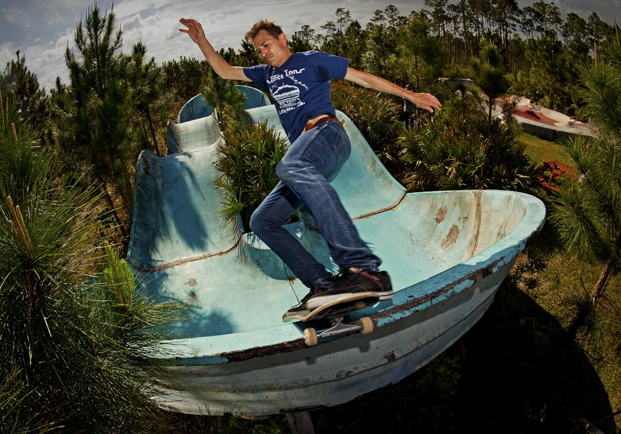 FS Disaster on a decayed Waterpark.  Photo: Bart Jones