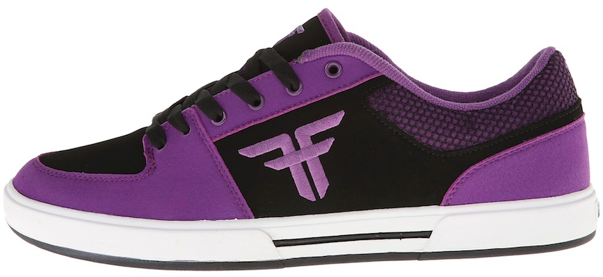 Vegan skateboard shoes Fallen Purple Skateboard skating Veg Vegan synthetic leather synthetic nubuck