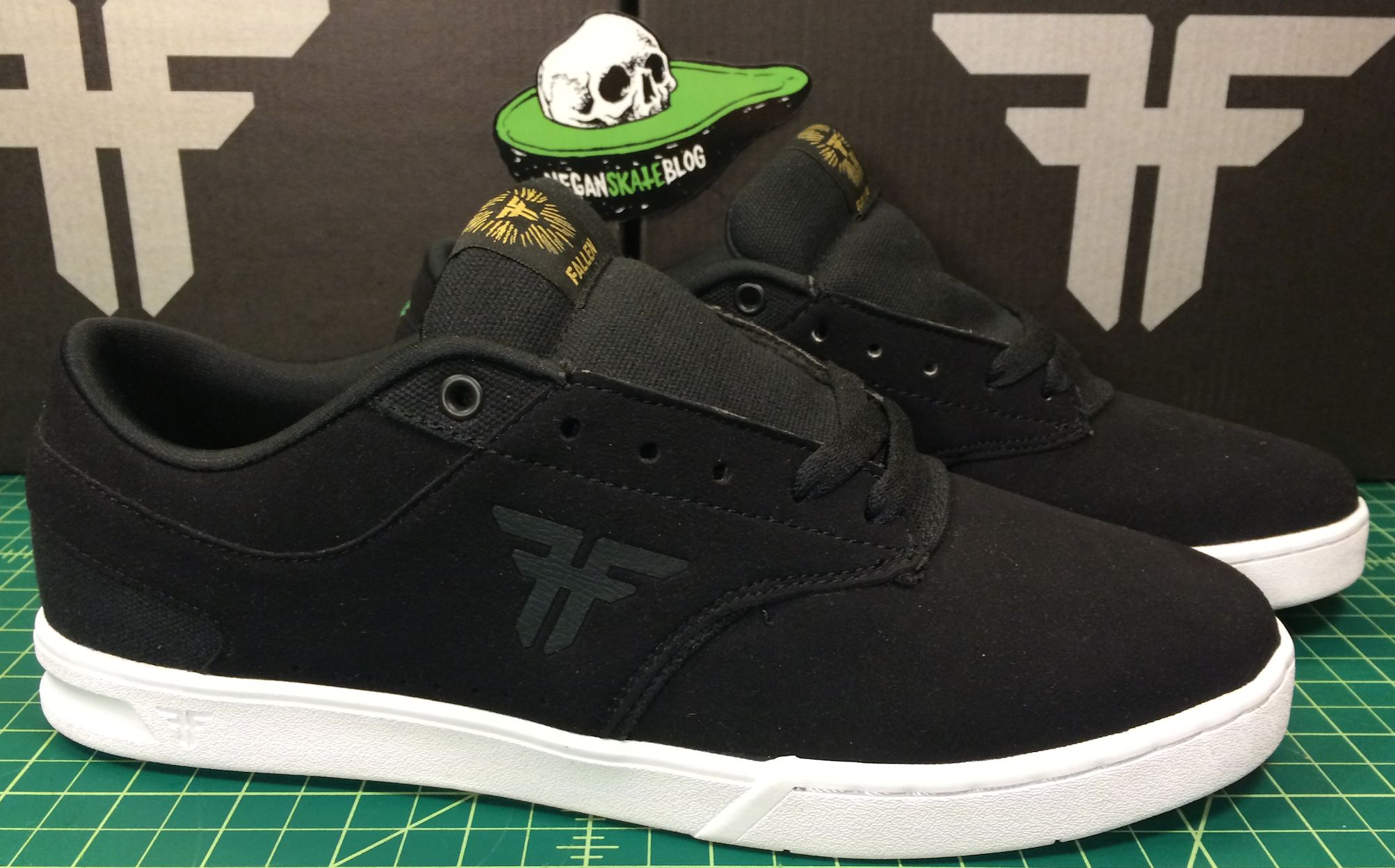 Fallen the vibe vegan skateboard shoe synthetic upper