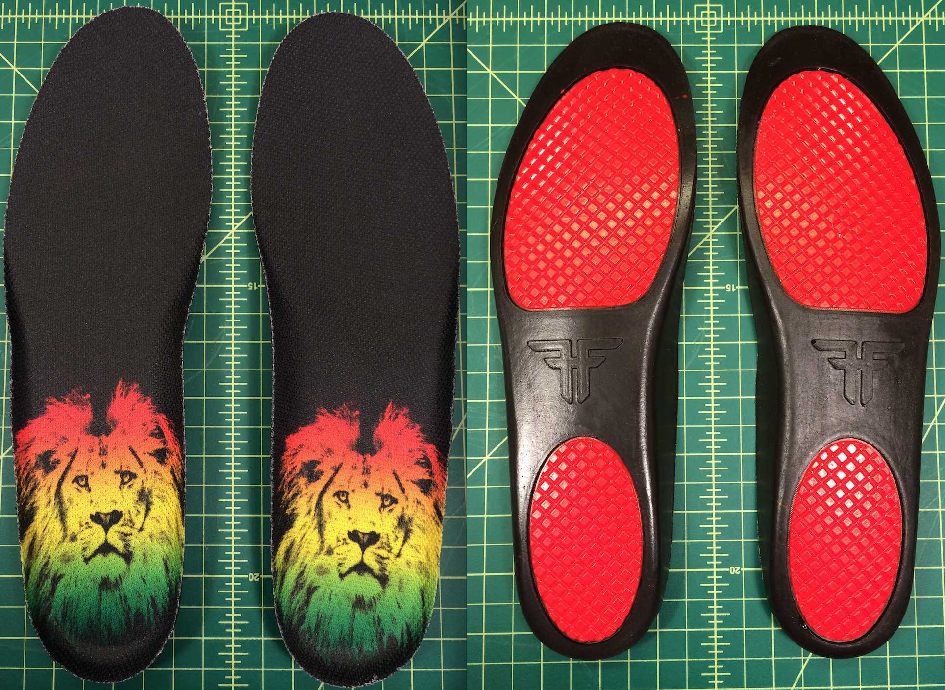 Fallen The Vibe Lion of Juda insole Vegan skateboard shoes